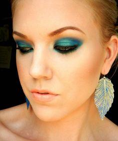 Colorful Summer Eye Makeup #eyeshadow #makeup #beauty