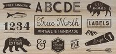True North font by Cultivated Mind – a plenitude of vintage loveliness