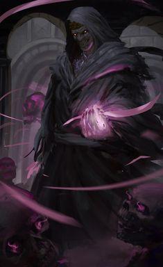 Dark Fantasy Art, Fantasy Rpg, Fantasy Artwork, Fantasy Character Design, Character Art, Demon Art, World Of Darkness, Fantasy Warrior, Fantasy Magician