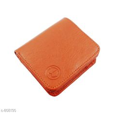 Wallets Stylish Leather Men's Wallet  *Material* PU Leather  *Size * Free Size  *Cash Compartments* 2    *Card Slots * 3  *Coin Pouch* 1  *Description* It Has 1 Piece Of Men's Wallet  *Pattern* Solid  *Sizes Available* Free Size *   Catalog Rating: ★3.9 (128)  Catalog Name: Men's Attractive Leather Wallets Vol 5 CatalogID_92856 C65-SC1221 Code: 142-808130-
