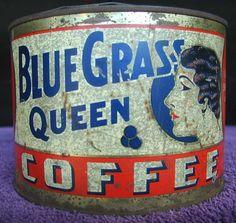 Blue Grass Queen Coffee