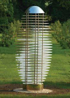 David Harber: Ether Urn stainless steel sculpture