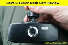 There are lots of uses for something like this such as documenting your emergency routes or how to get to your emergency supplies. Here's a review of a 1080p model that's well under $100.  http://graywolfsurvival.com/37200/vehicle-surveillance-camera-g1w-c-1080p/