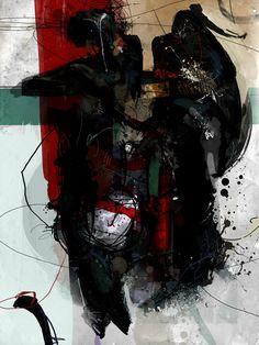 Shaman, painting by Tas Vicze. digital. digi. In People, Character, Anthropomorphism. Shaman, painting by Tas Vicze. Image #223273