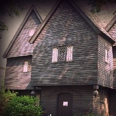 Salem Witch House  Once the home a Salem Witch Trial judge, this residence in Salem, Massachusetts is an eerie homage to the infamous summer of 1692, a time when fear and speculation bewitched a town and ruled a courtroom.