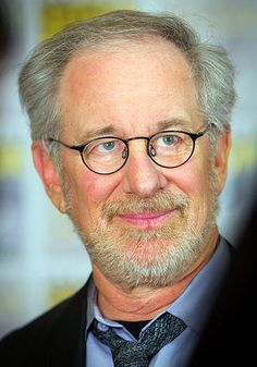 Steven Spielberg. Someone whom I've admired since I was little.
