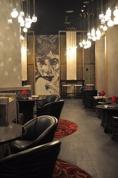 Suga Bar, United Arab Emirates designed by Stickman Design LLC