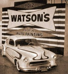 Kustom Cars of the 1950's, Page two Kustom Cars of the 1950's also known as Custom cars