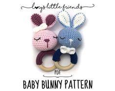 Lola Bunny Rattle Crochet Pattern by yarnabees on Etsy
