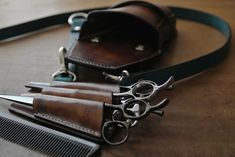 tools for barbering.