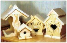 Bird houses and feeders for beginners. #woodworkingprojects #woodworkingforbeginners