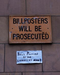 Bill Posters | 21 Photos Guaranteed To Make You Laugh Every Time