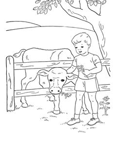 Free printable lamb coloring page | kleurplaten/coloring pages ...