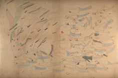 Red Horse pictographic account of the Little Big Horn Battle - 1876.