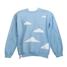cb6c220df025 Are you interested in our fun sky blue sweatshirt  With our Cloud Sweatshirt  you need look no further.
