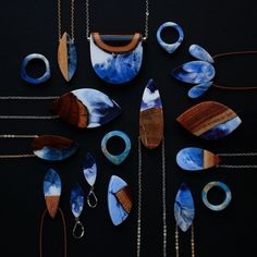 Designer Turns Salvaged Wood Fragments into Gorgeous Handmade Jewelry - My Modern Met