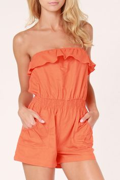 Wow!  I remember wearing a romper just like this in hot pink my freshman year at WT.  Nice!