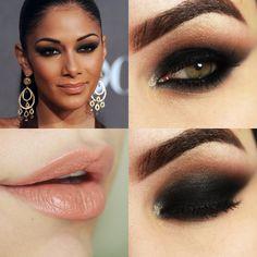 Makeup Tutorial – Olho Preto inspirado em Nicole Scherzinger