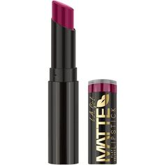 Girl's Matte Flat Velvet Lipstick comes in a collection of bold shades that are rich in pigment and filled with moisture. Mask Makeup, Lip Makeup, Makeup Cosmetics, Beauty Makeup, Drugstore Beauty, Velvet Lipstick, Matte Lipstick, Lipstick Shades, Lipsticks