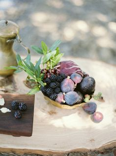 Organic and earthy fall wedding inspiration Olives, James Beard Foundation, 100 Layer Cake, Winter Wedding Inspiration, All Things Purple, Raw Vegan, Fresh Fruit, Earthy, Fall Wedding