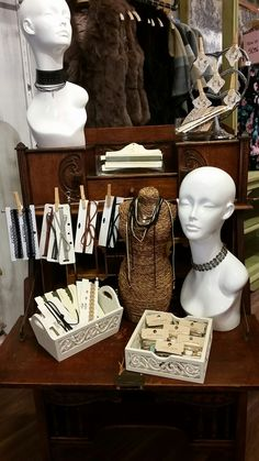 Living 2 Boutique Fall 2016 Jewellery Choker Feature Display Aug 30th, 2016