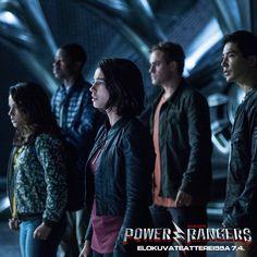 Trini, Billy, Kimberly, Jason ja Zack - onko heistä kotikylänsä ja koko maailman pelastajiksi? ⚡️  POWER RANGERS elokuvateattereissa 7.4.               @NordiskFilmFi