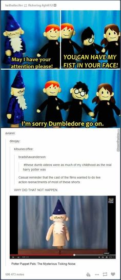 Potter puppet pals<<i freaking loved these Harry Potter Puppets, Potter Puppet Pals, Harry Potter Jokes, Harry Potter Fandom, No Muggles, Ravenclaw, Slytherin Pride, Yer A Wizard Harry, Harry Potter Universal