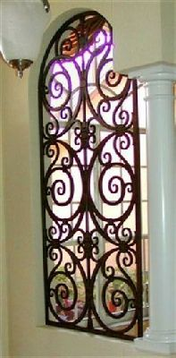 fauxirondesign.com | Tableaux Faux Iron Room Divider