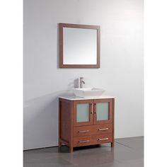 "Found it at Wayfair - 24"" Single Bathroom Vanity Set with Mirror"