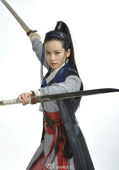 I love female warriors Warrior Girl, Fantasy Warrior, Geisha, Sword Poses, Katana Girl, Female Samurai, Fighting Poses, Ju Jitsu, Japanese Warrior