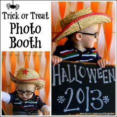 Trick or Treat Photo Booth: Halloween Dollar Tree Series