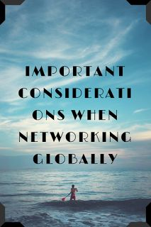 How To Make Money Online: Important Considerations When Networking Globally