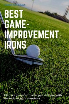 If you need a little help with your game, then these game improvement irons are perfect for you. We review the irons that will lower your score while still giving you great control. If you're a beginner or high-handicapper, then check out this buyers guide. Golf Clubs For Beginners, Iron Games, Golf Gifts For Men, Club Face, Club Design, Buyers Guide, Taylormade, Irons, Ladies Golf