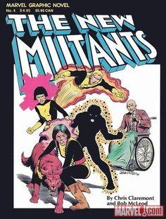 New Mutants graphic novel - the original five