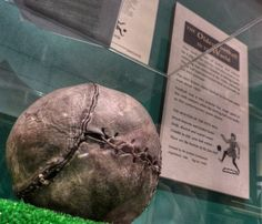 One of the world's oldest known soccer balls, found in the rafters of a bedroom in Stirling Castle and dating from around the time of Mary Queen of Scots in the 16th centurySoccer