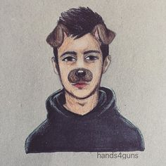Instagram media by hands4guns - u crazy dawg #myart #tylerjoseph #twentyonepilots #cliqueart #prismacolors