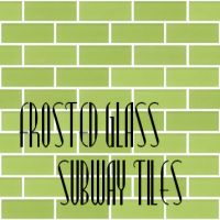 Mod The Sims - Frosted Glass Subway Tiles - 44 colors!
