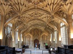Bodleian Library; Oxford, UK | 19 Totally Magical Libraries To Visit Before You Die