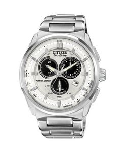 Citizen Men's BL5480-53A Eco-Drive Perpetual Calendar Chronograph Watch Citizen. $371.25. Perpetual calendar. Eco-drive is fueled by light so it never needs a battery. Water-resistant to 100 M (330 feet). Chronograph. Silver tone stainless steel case. Save 25% Off!
