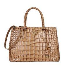 84b83ec90a72 new prada croco calf leather tote bag bn2274 apricot 2013 £172.00 Prada  Tote Bag,
