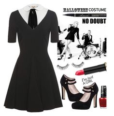 """""""DIY Halloween Costume:Gwen Stefani"""" by dianefantasy ❤ liked on Polyvore featuring Michael Kors, Opening Ceremony, Kate Spade, OPI, Urban Decay, Sephora Collection, polyvorecommunity, polyvoreeditorial, halloweencostume and DIYHalloween"""