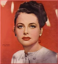Magazine photos featuring Hedy Lamarr on the cover. Hedy Lamarr magazine cover photos, back issues and newstand editions. Old Hollywood Glamour, Golden Age Of Hollywood, Vintage Hollywood, Classic Hollywood, Viejo Hollywood, Hollywood Divas, Love Vintage, Hedy Lamarr, Movie Magazine