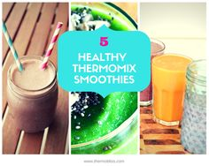 Get up and moving with these super healthy Thermomix smoothies!