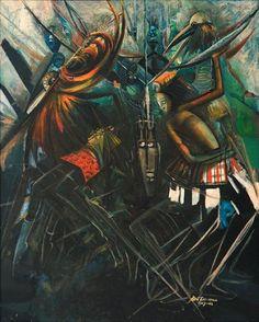 Crucified Gods Galore by BEN ENWONWU: 1967 - 1968 #art #african