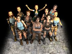 Lara croft: Now and Then
