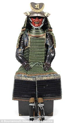 Japanese Woman's Samurai armour, dating to the 1800