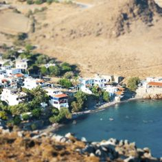 Lentas village, Crete, Greece. Pretty sure this is the village I went to a couple summers back. I'll definitely have to go again :)