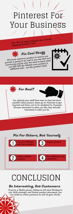 Pinterest for Business: How to Make Pinterest a Useful Business Tool | #infographic #pinterest #marketing