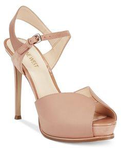 Nine West Cruzeto Ankle-Strap Platform Dress Sandals