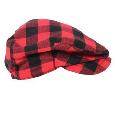 This Red Buffalo plaid,100% cotton flannel hat, will look dapper on your little dude! The elastic back ensures a snug fit and your little guy can sport it forwards or backwards depending on his mood.